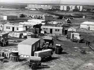 Пионерный, строительство общежития 13-14