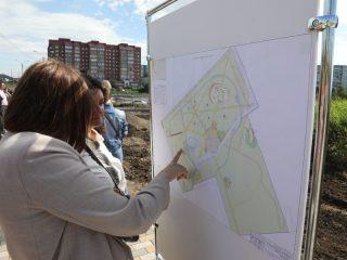 План будущего парка Солнечный