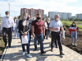 Мэр Красноярска Сергей Еремин лично инспектирует работы