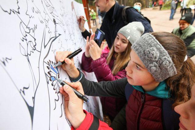Открытие новой площадки на «Столбах». Красноярск. 26 сентября 2020 года