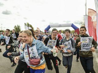 Красноярск по традиции присоединился к Всероссийскому дню бега