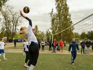 ...в волейбол