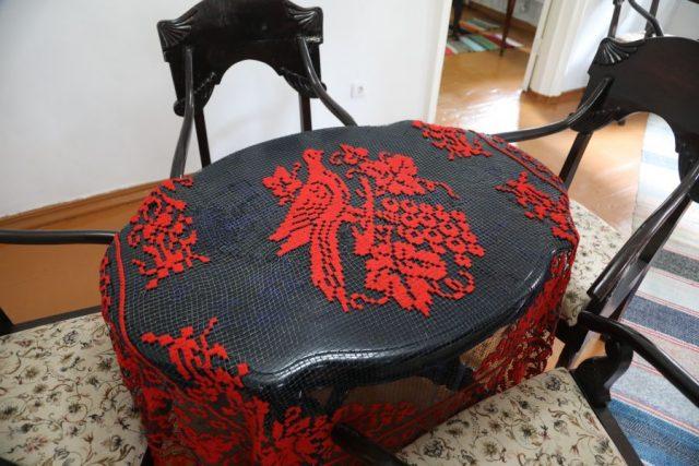Раритетные швейные машинки в музее-усадьбе Сурикова. 14 октября 2020 года