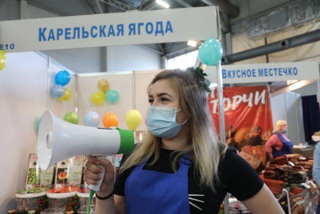Сибирская ярмарка: лица, маски и товар. Красноярск. 29 октября 2020 года