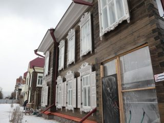 Журналистам показали, как выглядят исторические здания сейчас