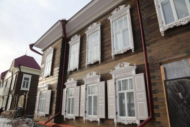 Обновление Исторического квартала. Красноярск. 24 ноября 2020 года