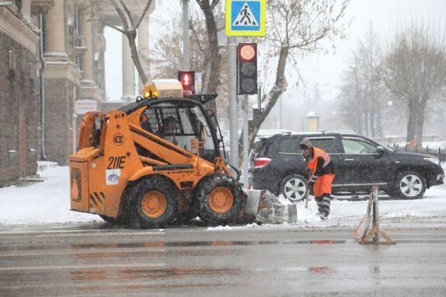 Снег в городе. Красноярск. 5 ноября 2020 года | Наш Красноярский край