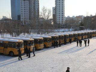 Напомним, что в конце августа текущего года за счет краевого бюджета муниципалитеты получили 38 новых школьных автобусов. Таким образом, в этом году школьный автопарк пополнился 62 новыми транспортными средствами