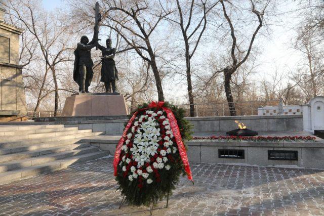 День Неизвестного Солдата. Красноярск. 3 декабря 2020 года