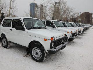 Сельским докторам вручили ключи от 30 автомобилей для работы «в полевых условиях»