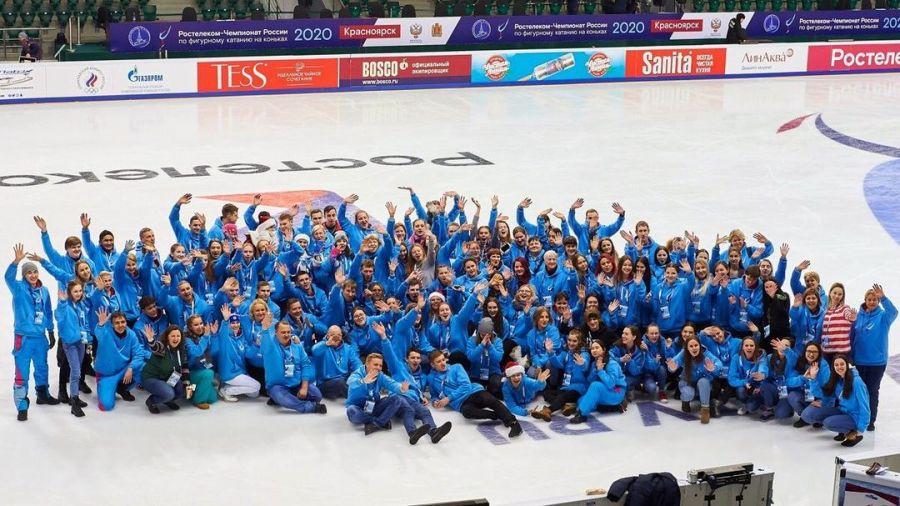 В Красноярске набирают волонтеров для работы на первенстве России по фигурному катанию