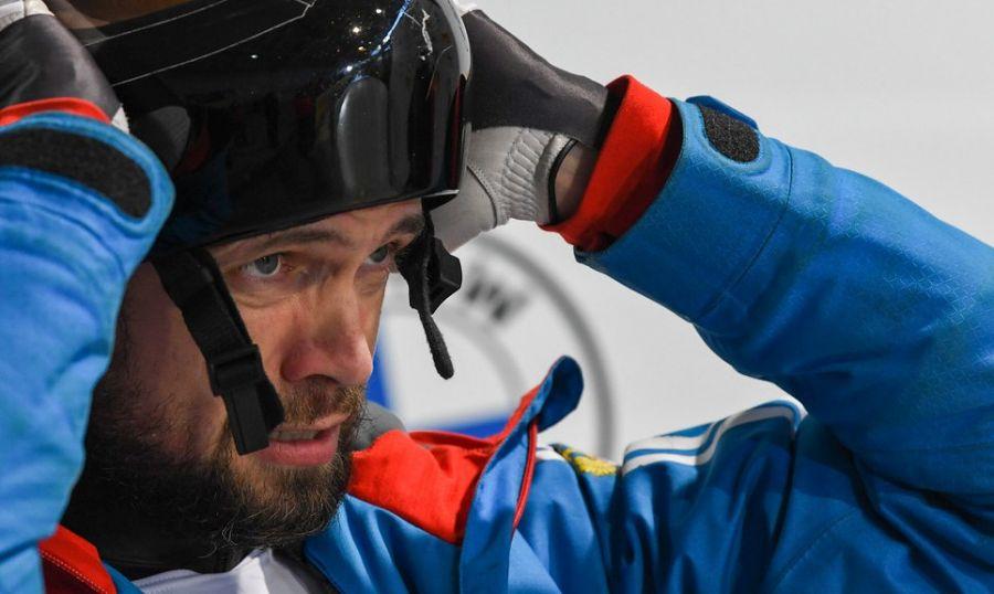 >Скелетон: Александр Третьяков выиграл бронзу немецкого этапа Кубка мира