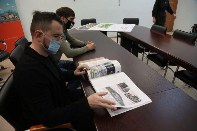 Проекты благоустройства городов края. Красноярск. 21 января