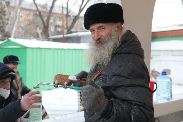 Крещение Господне. Красноярск. 19 января