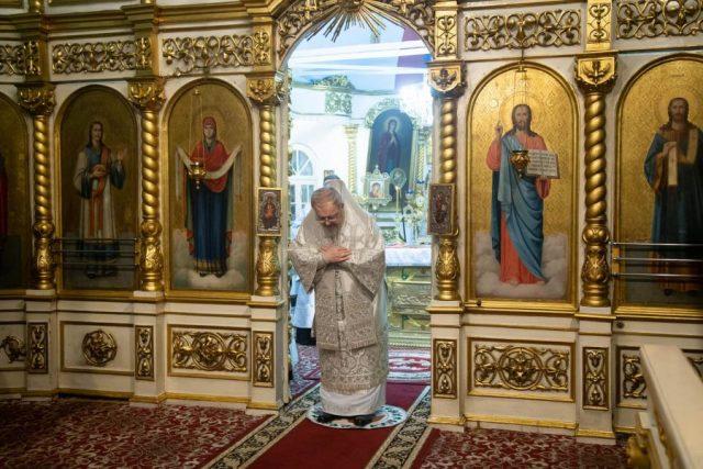 Освящение воды. Красноярск. 19 января