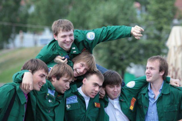 Студенты Красноярского края. 25 января