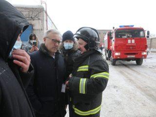Не место происшествия прибыл губернатор Красноярского края Александр Усс