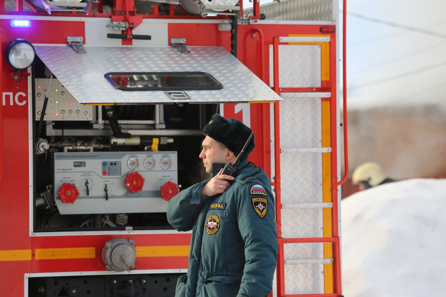 В сгоревшей красноярской квартире обнаружили тела двух погибших