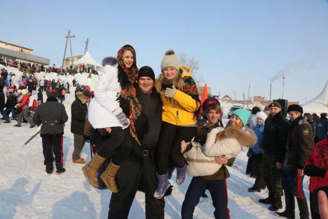Как в Красноярском крае отмечают Масленицу