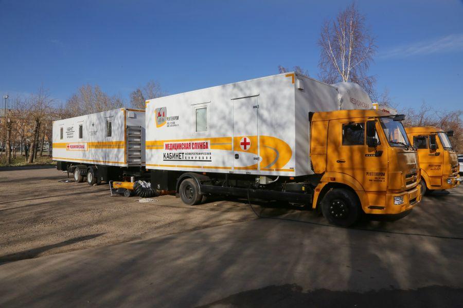 С 17 мая передвижная поликлиника Красноярского края начнет работу в Курагинском районе