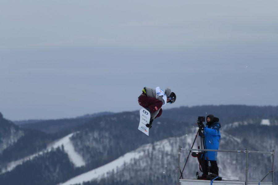 Фото пресс-центра первенства мира по фристайлу и сноуборду среди юниоров 2021 года в Красноярске