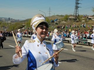 Парад 9 Мая 2015-го