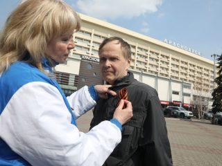 В Красноярском крае акция пройдет во всех крупных городах и поселках и завершится 9 мая
