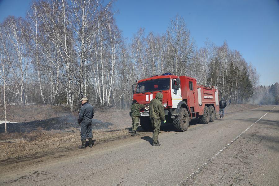 В четырех территориях арктической зоны Красноярского края действует противопожарный режим