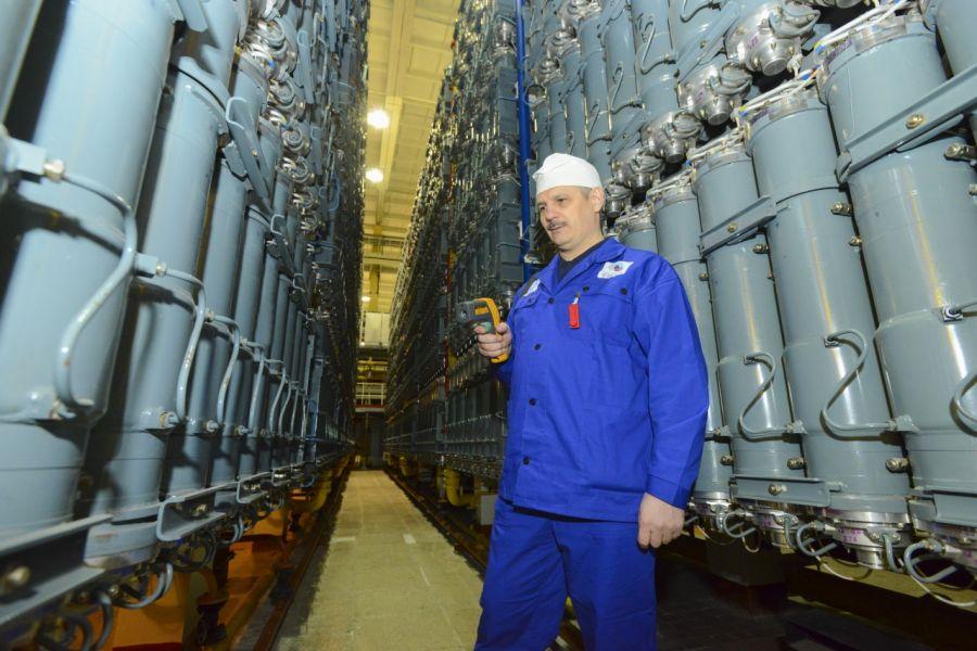 >Центрифуги нового поколения для обогащения урана запущены на электрохимическом заводе под Красноярском