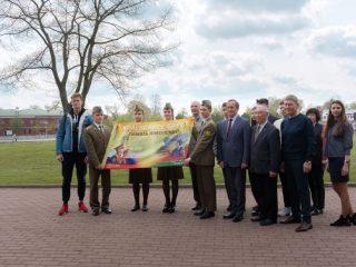 Передача флага «Дружба» состоялось в Бресте в торжественной обстановке