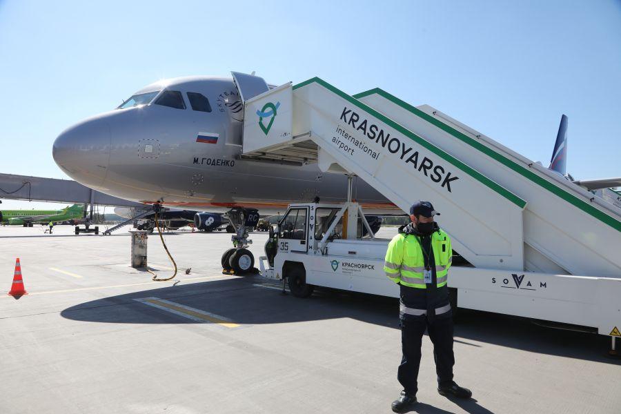 Новая рулежная дорожка в красноярском аэропорту построена и готова к запуску