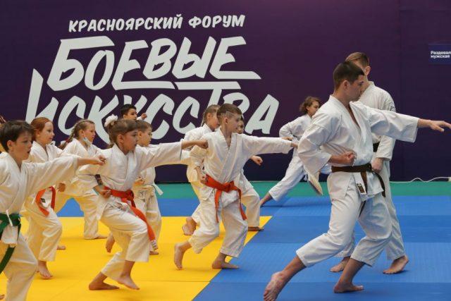 Форум «Боевые искусства для всех». Красноярск. 14 мая
