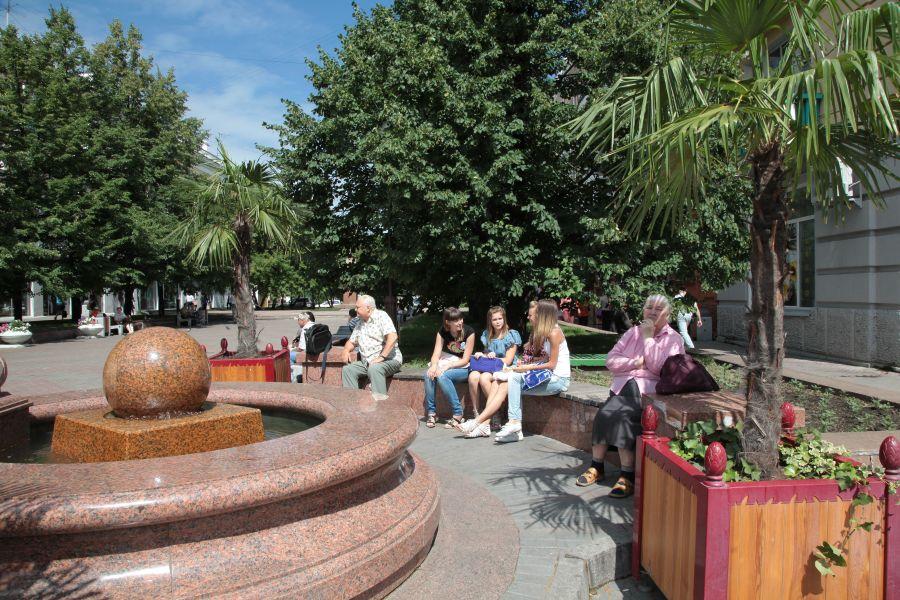 >На выходных в Красноярске установится жаркая погода до +30 градусов