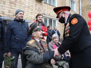 Ветеран Великой Отечественной войны Иван Михайлович Сенашов