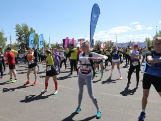 Организаторы приготовили для участников четыре дистанции: на 1520 м; 5 км; 10 км и 21,1 км