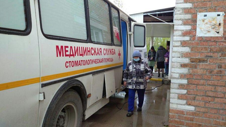 Первая передвижная стоматология отправилась в территории Красноярского края