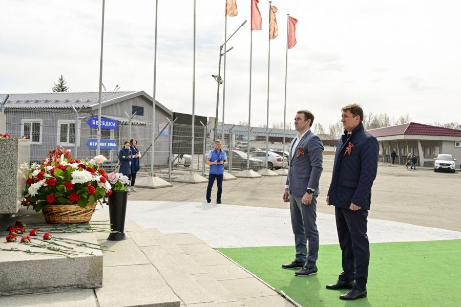 Память воинов-спортсменов почтили в Красноярске