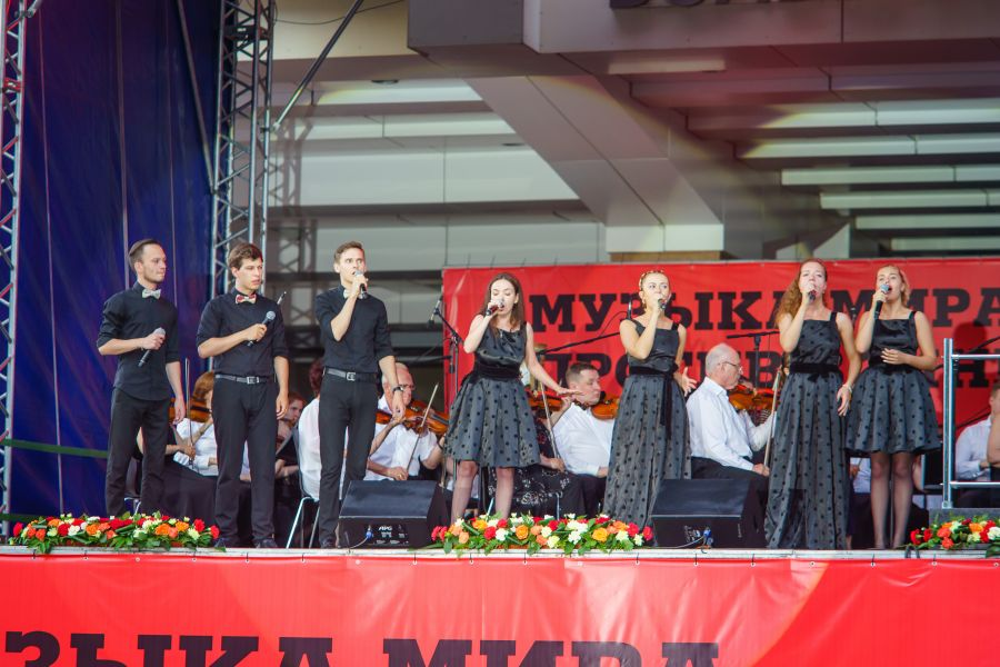>Традиционный концерт «Музыка мира против войны!» пройдет в Красноярске под открытым небом
