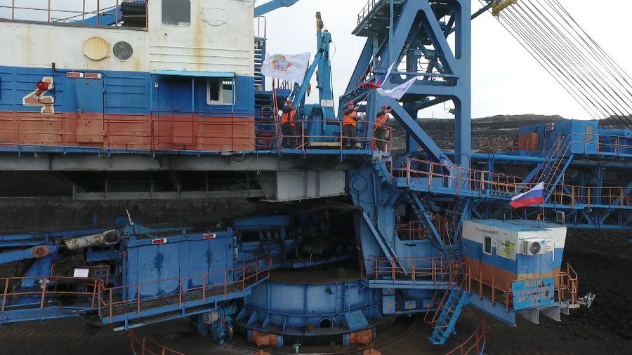 В шахтерских городах Красноярского края масштабно отпраздновали День России