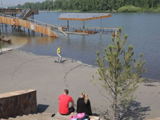 Накануне правительство края порадовало красноярцев новостью, что увеличение сброса воды на Красноярской ГЭС не планируется