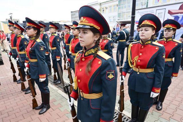 Агитпоезд Министерства обороны. Красноярск. 15 июня