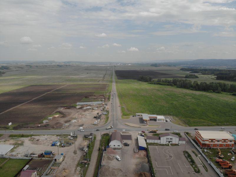 Дачная дорога в пригороде Красноярска станет четырехполосной