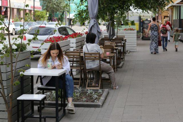Жаркие будни города. Красноярск. 19 июля