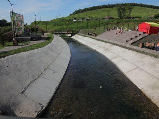 В селе Парная Шарыповского района открылась обновленная набережная реки Парнушка