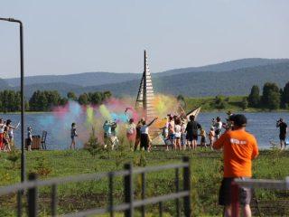 Фестиваль «Краски лета» привлек молодежь