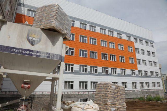 В Покровке строится самая большая поликлиника в Красноярске. 15 июля