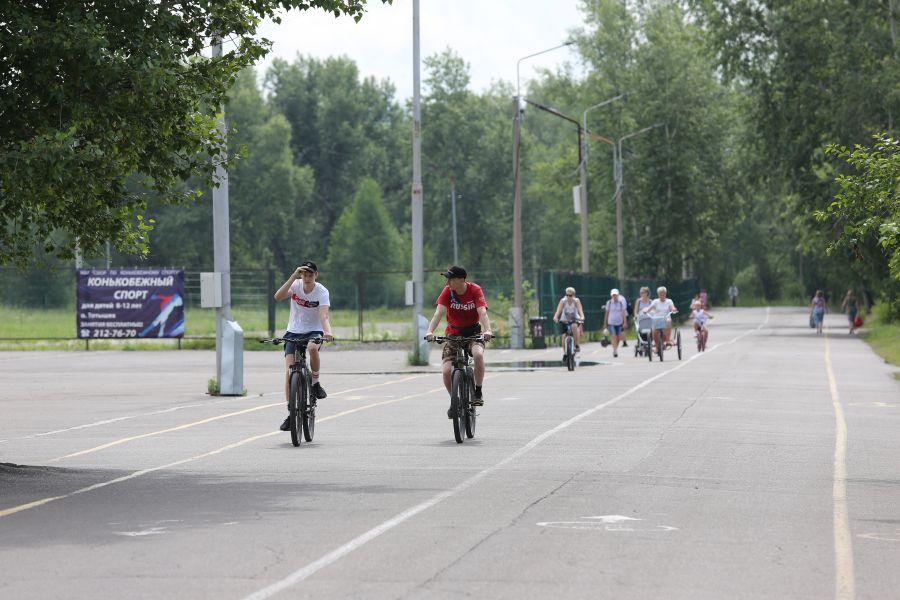 Наступающая рабочая неделя ожидается в Красноярске сухой и теплой