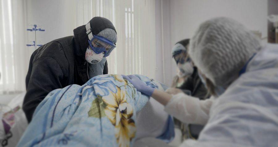 >Ковидные госпитали Красноярского края заняты на 83 %