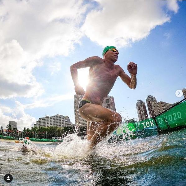 >Красноярские триатлонисты на Олимпиаде оказались за чертой третьего десятка