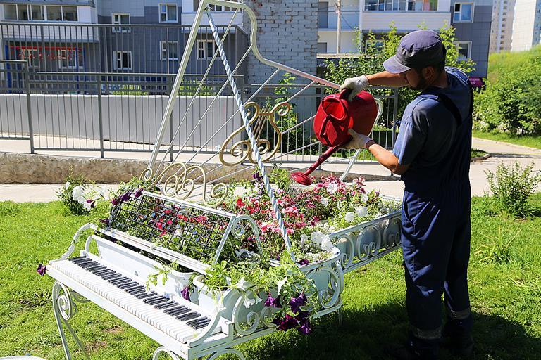 В Красноярске выбрали дворы для благоустройства в следующем году